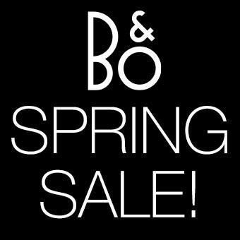 B&O Spring Sale