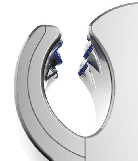 dyson airblade db ab14 silber 300677 01 electronic4you. Black Bedroom Furniture Sets. Home Design Ideas