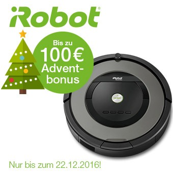 iRobot - Bis zu 100€ Herbstbonus