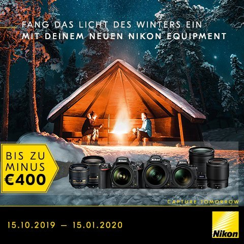 Nikon Sofortrabatt 2019