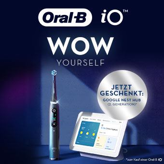 Jetzt Oral-B kaufen und gratis Google Nest Hub sichern!