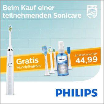 Gratis Mundpflegeset im Wert von UVP 44,99€
