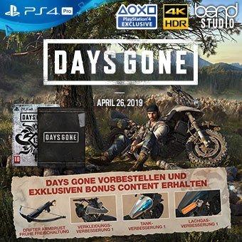 Days Gone - Jetzt vorbestellen!