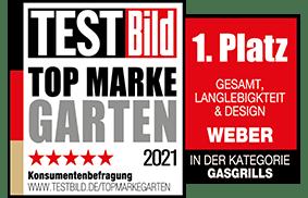 Weber Testbild Topmarke 2021