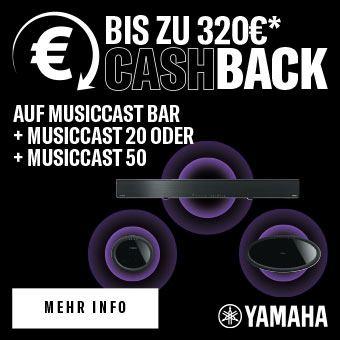 Yamaha - Bis zu 320 € Cashback