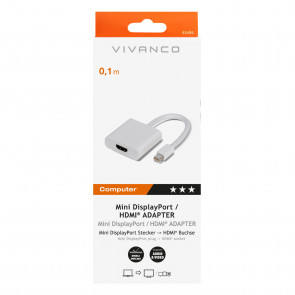 VIVANCO Mini DisplayPort / HDMI Adapter