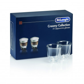 Delonghi Cappuccino Thermogläser Set