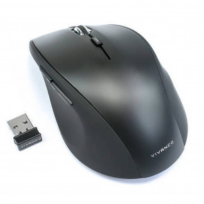 VIVANCO USB Wireless Mouse schwarz