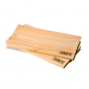 Weber Räucherbretter Zederholz, groß