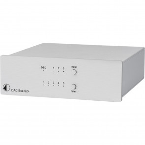 PROJECT DAC-BOX-S2+ UNI SILBER D/A KONV.