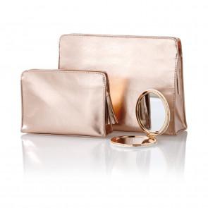 Golden Pouch Taschenset inkl. Spiegel
