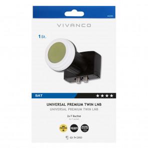 VIVANCO Universal Premium Twin LNB