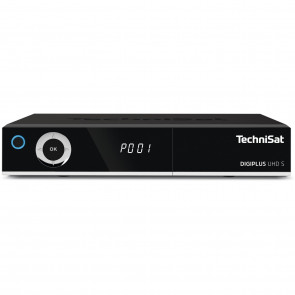 TechniSat Digiplus UHD S Twin schwarz