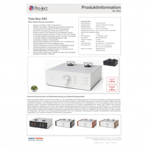 Project Tube Box DS2 silber
