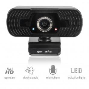 4Smarts Webcam C1 Full HD, Mikrofon