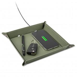 4Smarts Ladestation Wireless 15W grün