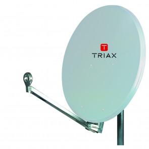 Triax AE 75 T lichtgrau inkl. Twin LNB