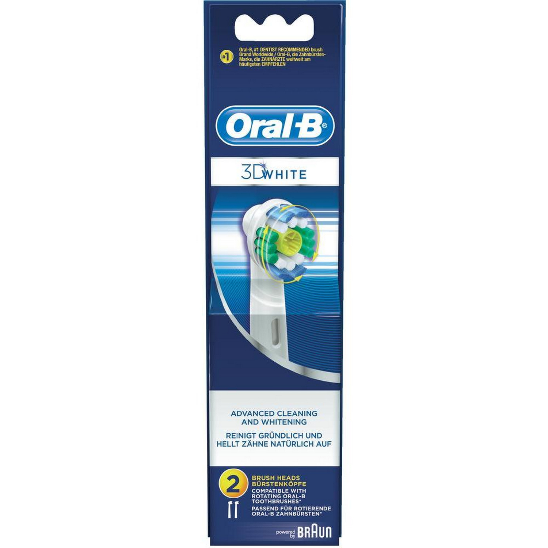 ORAL-B BRAUN Aufsteckbürsten 3D White 2er