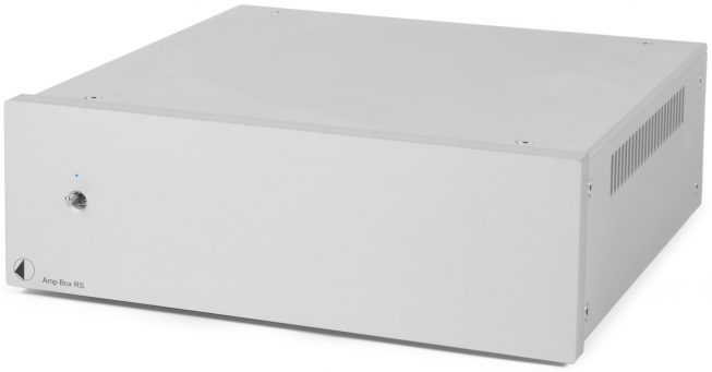 Project Amp-Box RS Endverstärker silber HIGH-END-SERIE Amp-Box RS silber