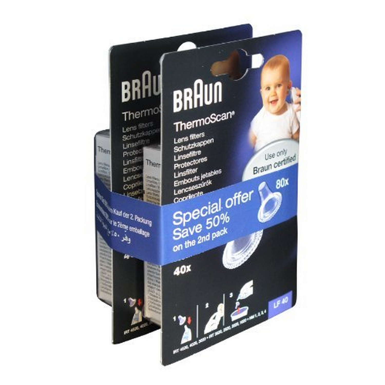 BRAUN LF40 Duo Pack Schutzkappen für IRT - Preisvergleich