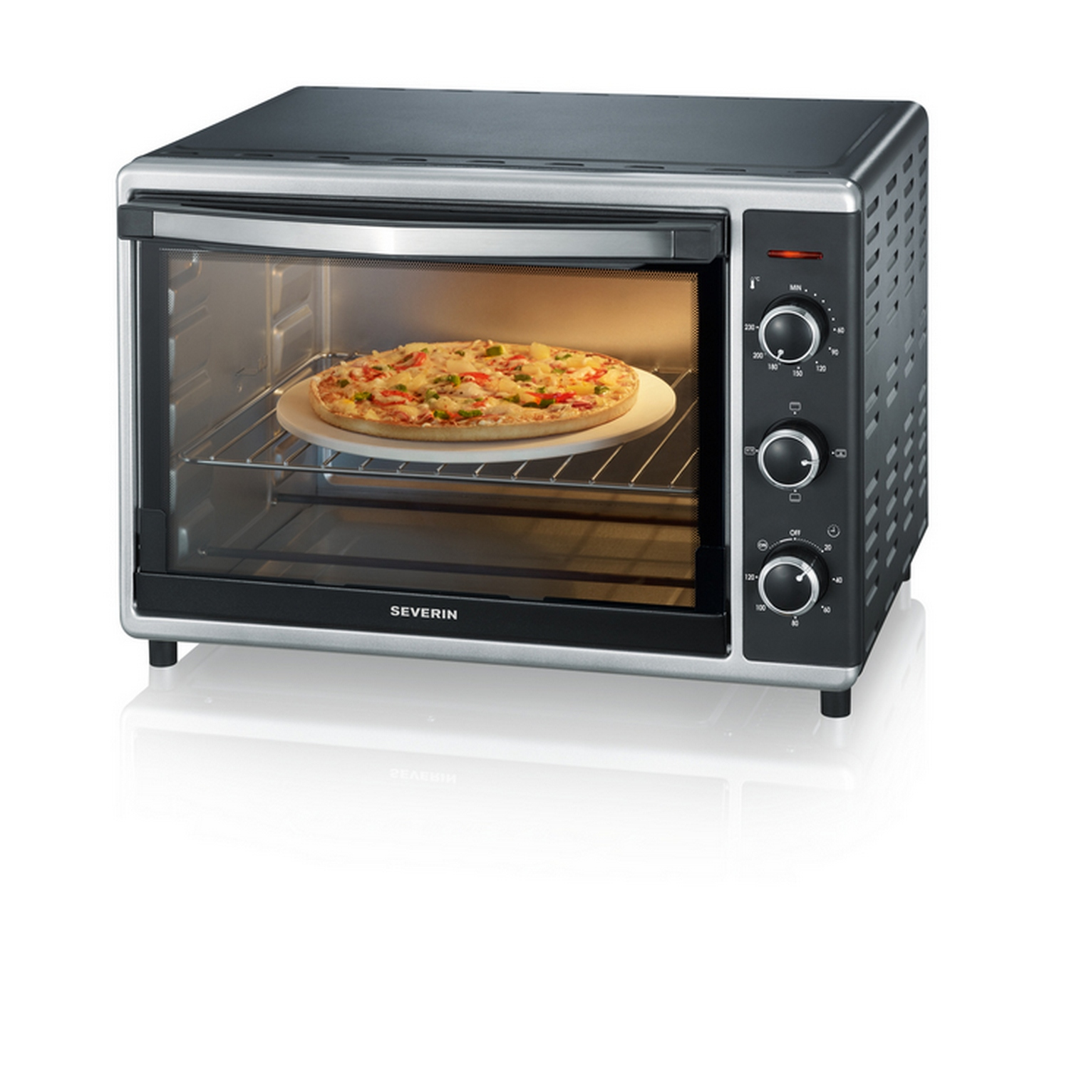 Severin TO2058 Mini Backofen MINI BACKOFEN MIT 42 LITER