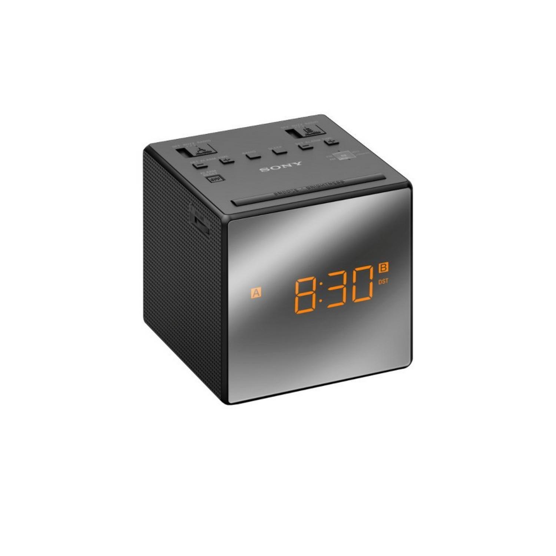 ICF-C1TB black Uhrenradio