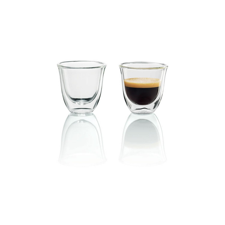 Delonghi Espresso Gläser DOPPELWANDIGE THERMOGLÄSER
