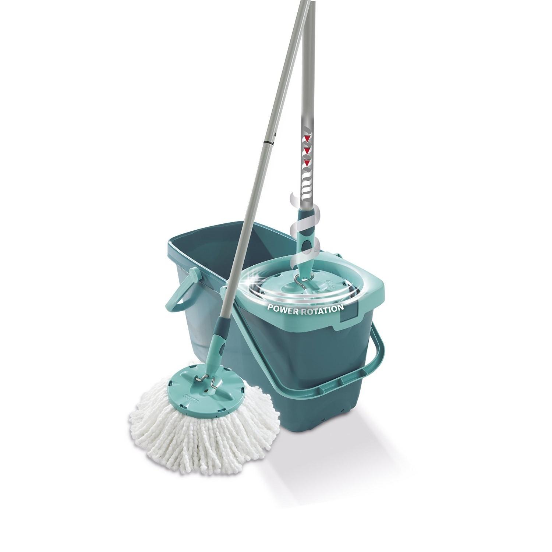 leifheit 52019 set cleantwist system mop wischmop mit schleudermechanik ebay. Black Bedroom Furniture Sets. Home Design Ideas