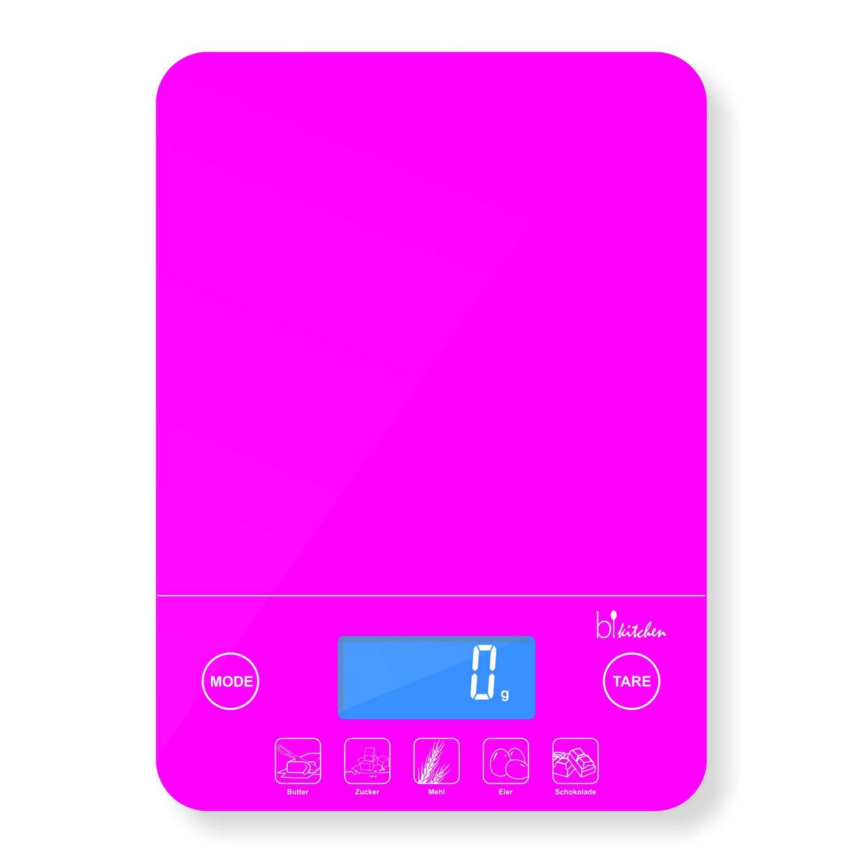 bikitchen Scale 200 Küchenwaage pink KÜCHENWAAGE BIS 5KG