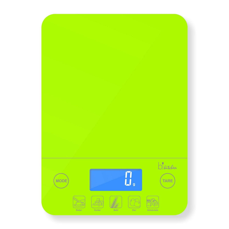 bikitchen Scale 200 Küchenwaage grün KÜCHENWAAGE BIS 5KG