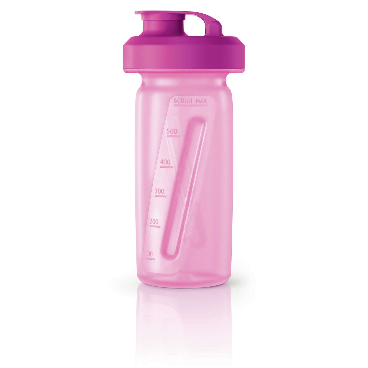 "Philips HR2989/00 Flasche pink ""ON THE GO"" FLASCHE FÜR SMOOTHIES"