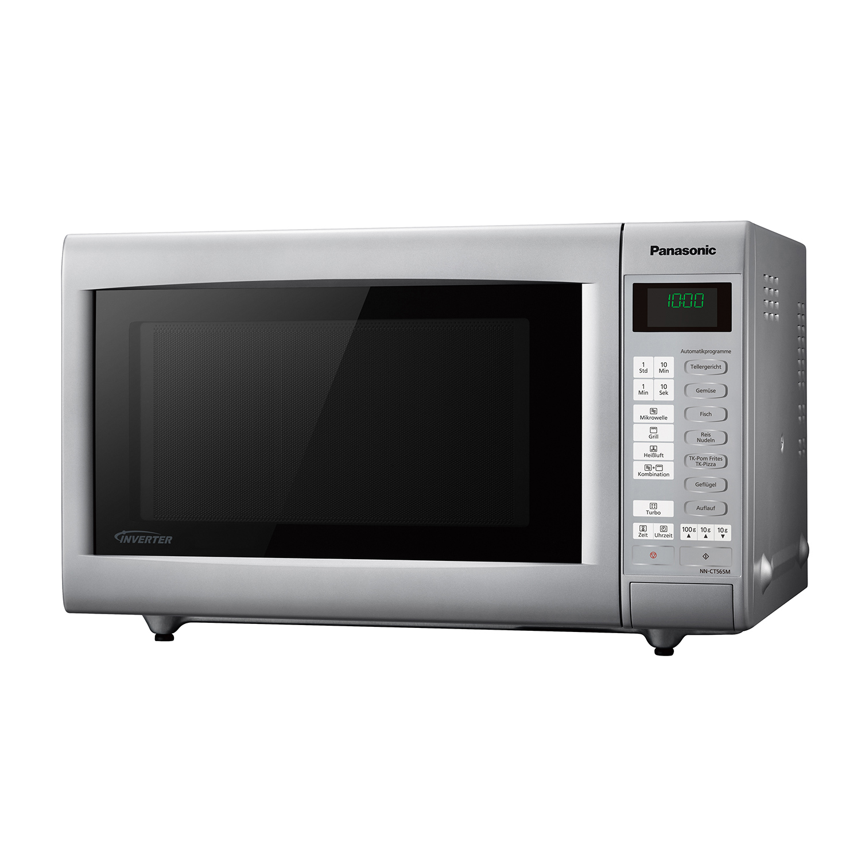panasonic nn ct565m mikrowelle mikrowelle mit grill hei luf ebay. Black Bedroom Furniture Sets. Home Design Ideas
