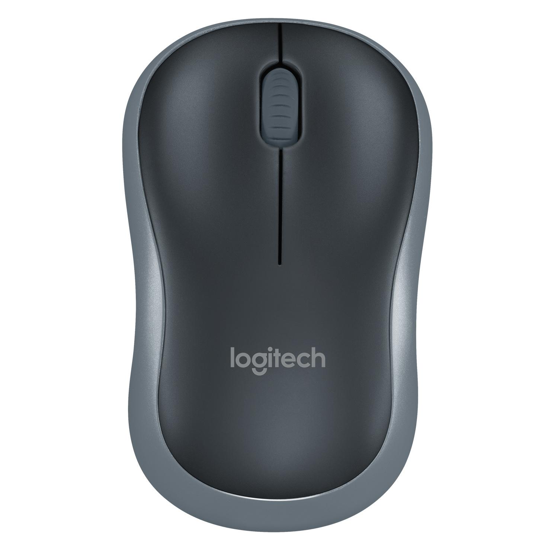 Logitech Wireless Mouse M185 Grau USB 910-002238