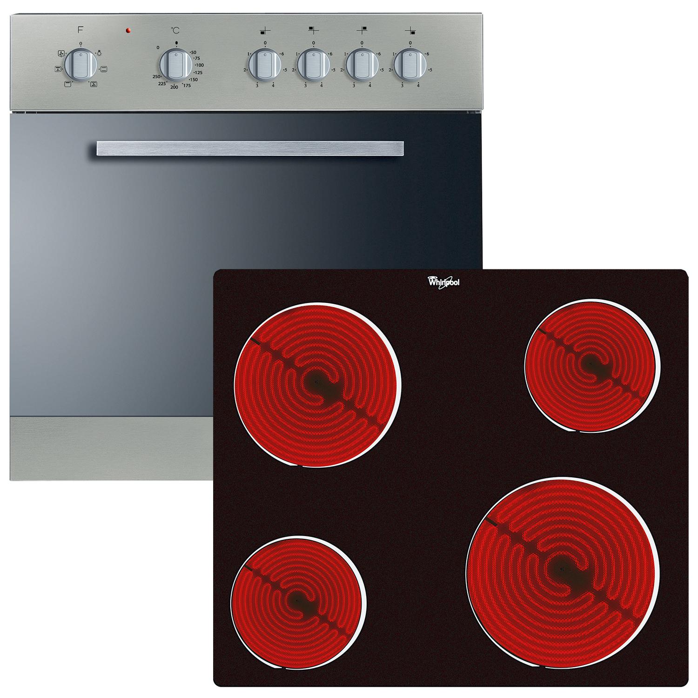 Whirlpool HK470IX Einbauherd-Set AKP470IX + AKT109NE 159006 + 159005
