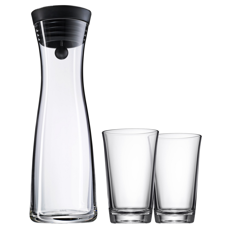 WMF Wasserkaraffe + 2 Wassergläser 0,25L 06.1770.9994