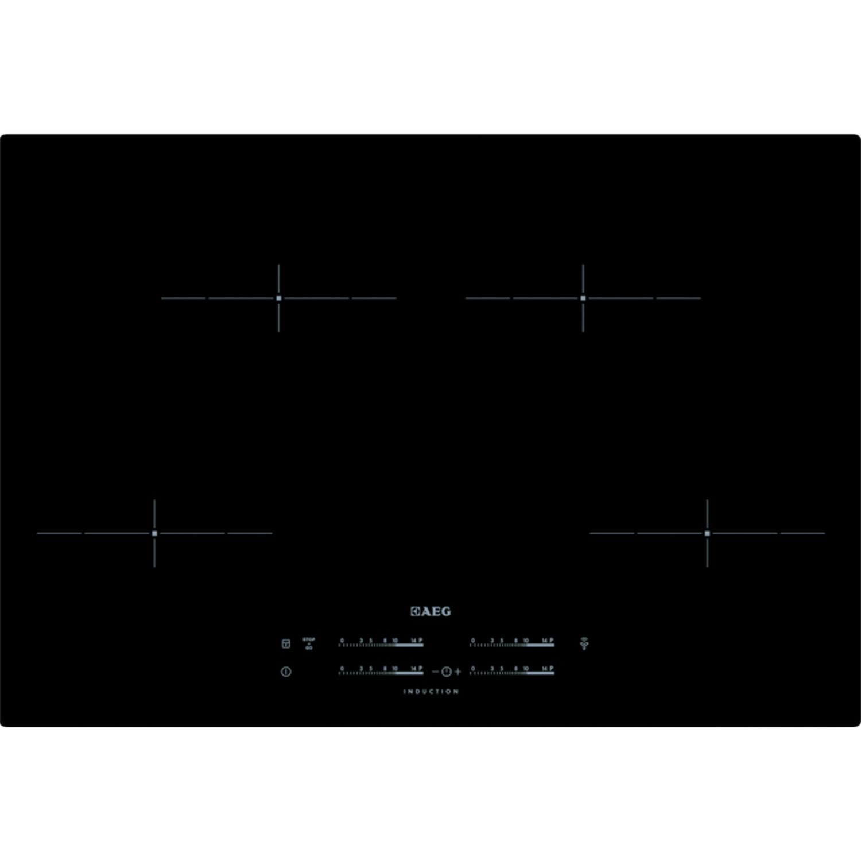 aeg hk854401 ib induktionskochfeld 80 cm fl chenb ndig ebay. Black Bedroom Furniture Sets. Home Design Ideas