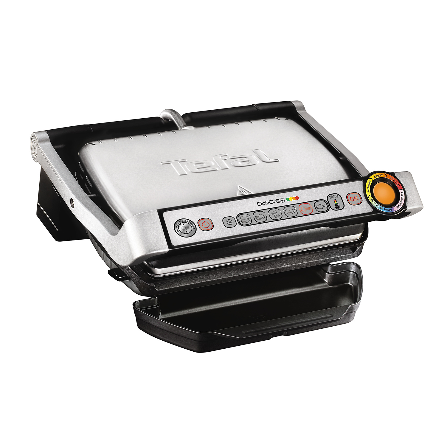 tefal gc712d optigrill kontaktgrill ebay. Black Bedroom Furniture Sets. Home Design Ideas