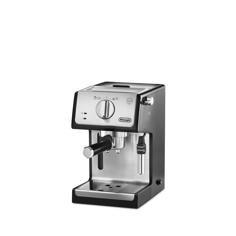 delonghi silber schwarz espresso siebtr ger maschine ebay. Black Bedroom Furniture Sets. Home Design Ideas