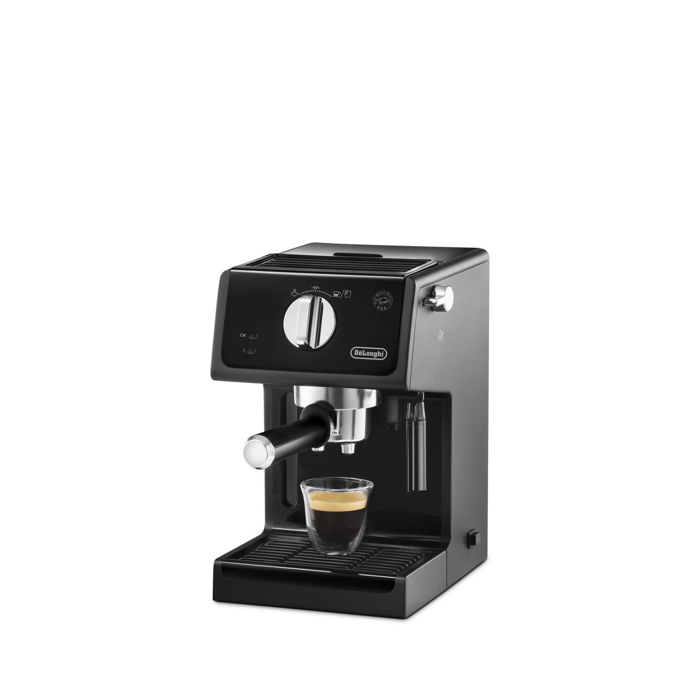 delonghi schwarz espresso siebtr ger maschine ebay. Black Bedroom Furniture Sets. Home Design Ideas