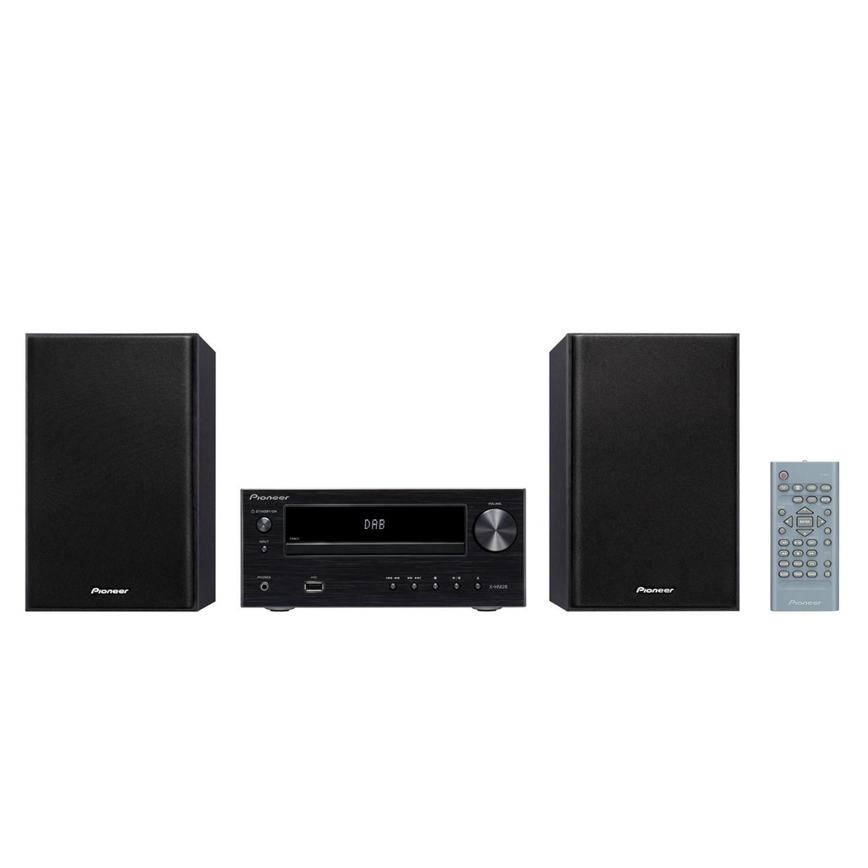 pioneer x hm26d b schwarz hifi kompaktanlage mit cd. Black Bedroom Furniture Sets. Home Design Ideas