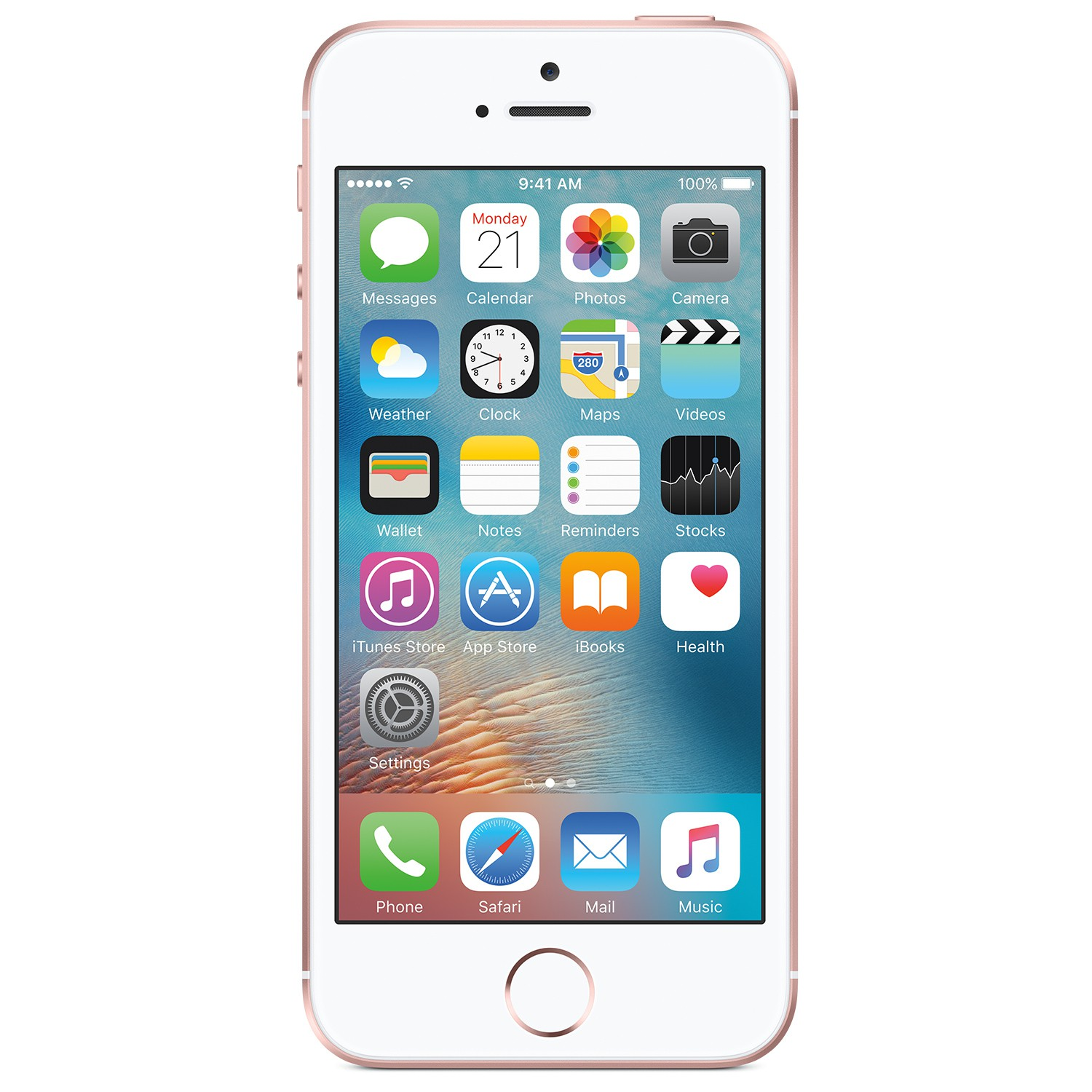 iPhone SE 32GB Rosegold MP852DN/A rosegold/weiss
