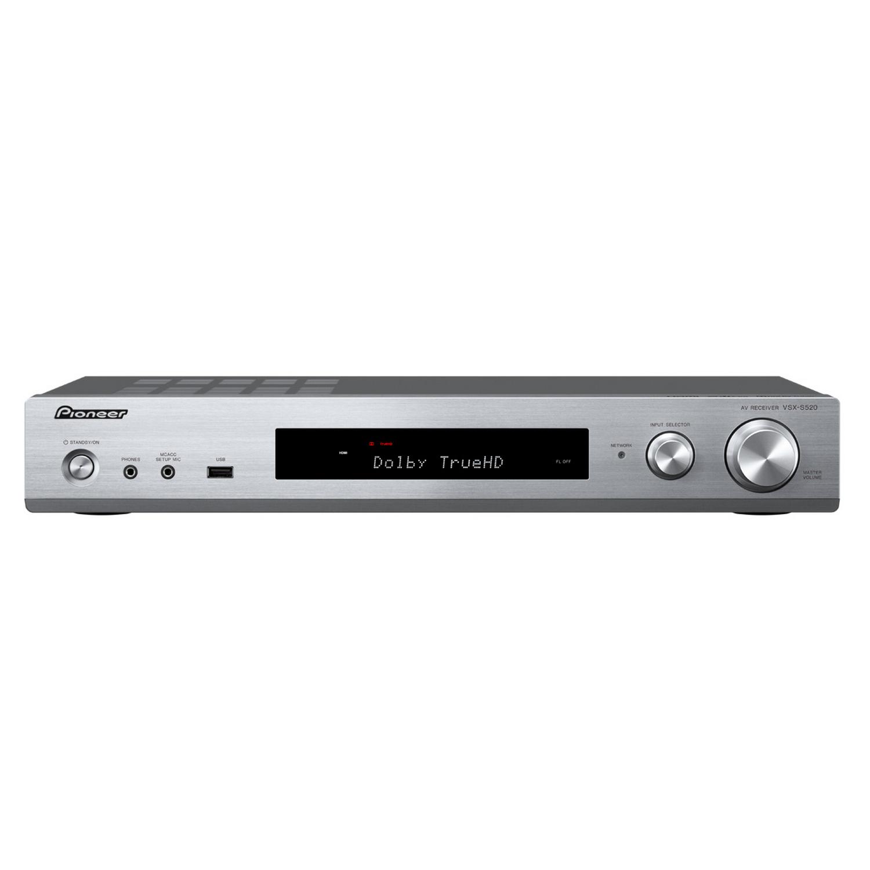 VSX-S520-S silber Slimline 6-Kanal, 80W/ch, WiFi, BT, HiRes Multi-Room (update)
