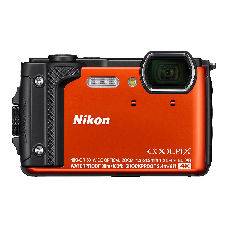 Nikon Coolpix W300 orange Holiday Kit Outdoor-Kamera (VQA071K001) - Preisvergleich