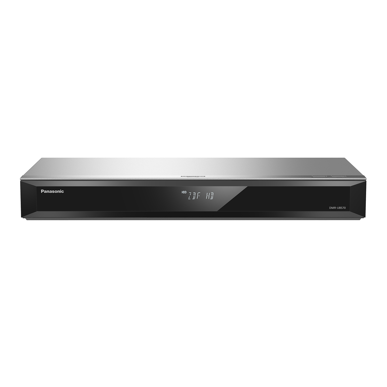 Panasonic DMR-UBS70EGS silber UHD Blu-ray Recorder Twin DVB-S Tuner - Preisvergleich