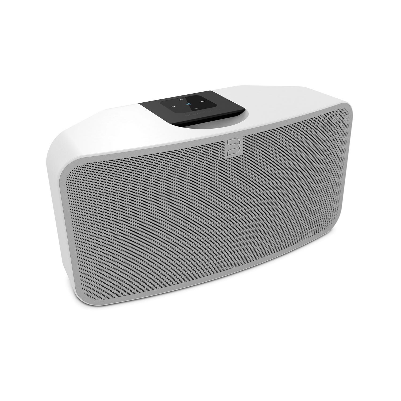 BLUESOUND PULSE MINI WHT Zonenplayer All in One wireless Multiroom-Speaker - Preisvergleich