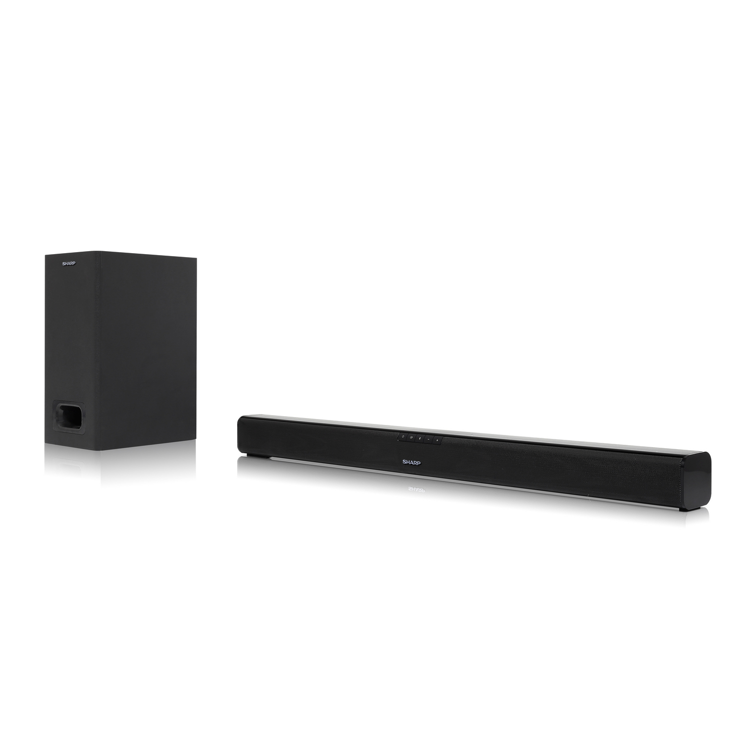 Sharp HT-SBW110 Soundbar 2. 1 SOUNDBAR WITH EXTERNAL SUBWOOFER
