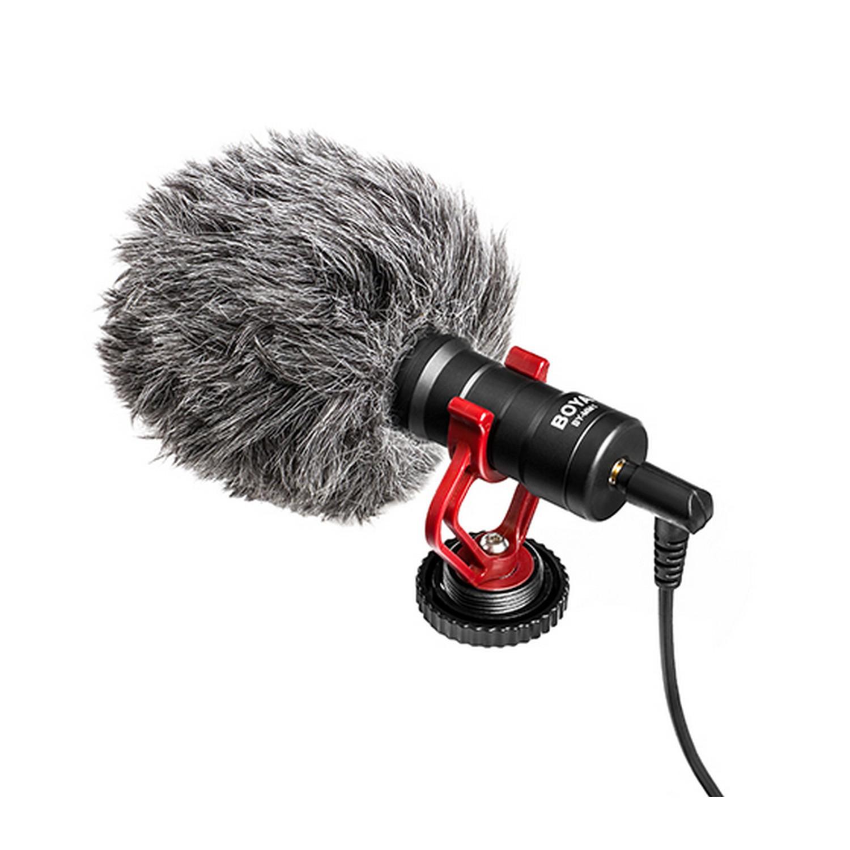 Boya MM1 universal compact Mikrofon MIKROFON FÜR SMARTPHONE, DSLR, CAMCORDER BY-MM1