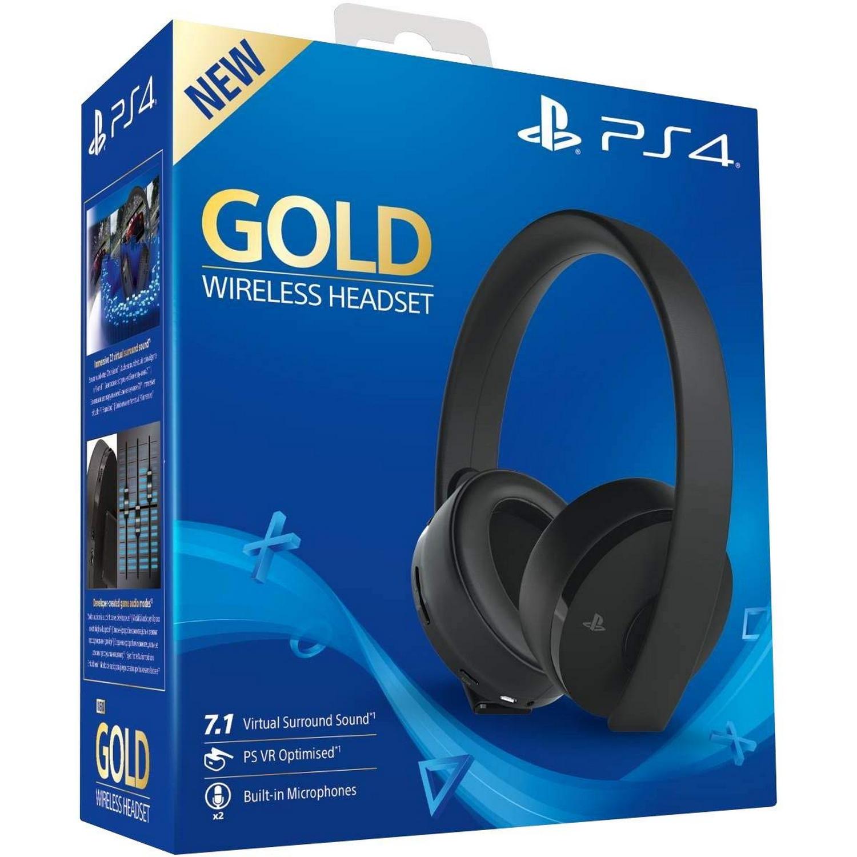 SONY PS4 Sony Gold Wireless Headset schwarz PS4 9455165