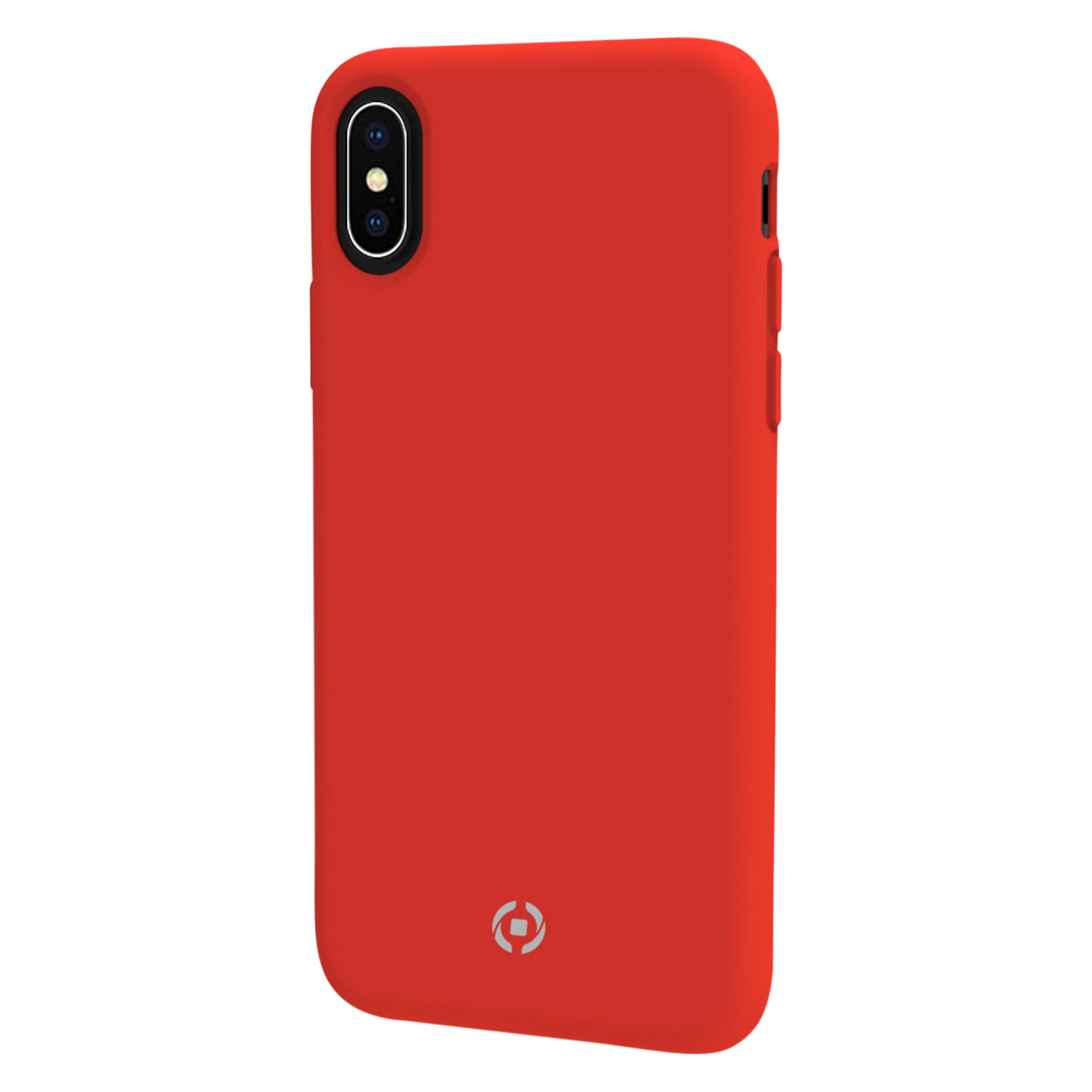 Celly Backcover Feeling iPhone X/XS FEELING900RD BACKCOVER ROT