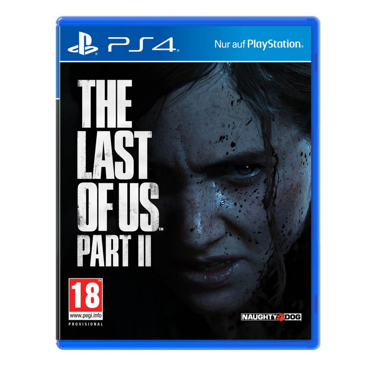 SONY PLAYSTATION The Last of Us Part II PlayStation 4 9330905 PEGI 18